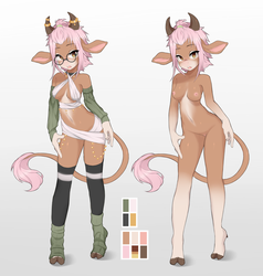 Cowgirl Adopt Auction on FA by CoffeeChicken