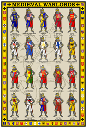 Medieval Warlords Poster by williammarshalstore