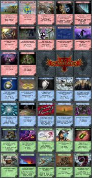 ArcoSummoner-Cards by Mantisnk by Mantis-nk