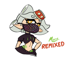 Marie REMIXED by iamtheNoNamer