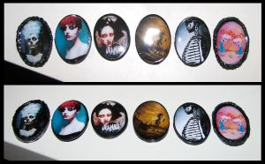 New Clay and Resin Rings by asunder