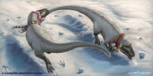Nanuqsaurus' Winter Games by c-compiler