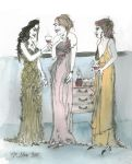 Three Ladies Wot Socialize by PaulineMoss