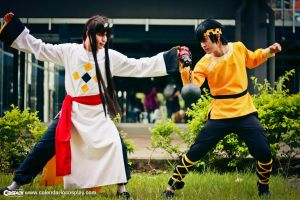 Mousse y Ryoga by Calendario-Cosplay