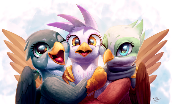 Bird Friends by Tsitra360