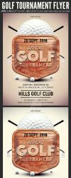 Golf Tournament Flyer Template by Hotpindesigns