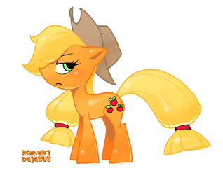 My Little Pony/Applejack by Banzchan