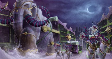 Travelling Circus by randomperson101