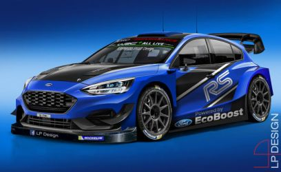 Ford Focus WRC 2020 Concept by renxo93