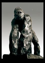 Gorilla II BRONZE by JBVendamme