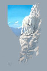 Mountain Goat by Duncan-Eagleson