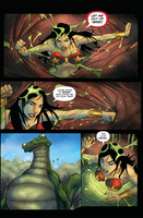 Darna Comic Vore: Attack of Snake Frog Hybrid Pg4 by zetaxinn