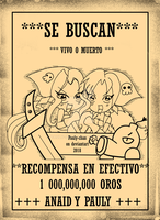 SE BUSCAN ANAID y PAULY PELIGRO!! by Pauly-chan