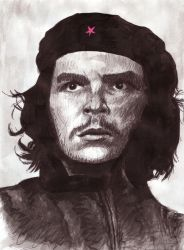 Che Guevara by HeavenhairSixes