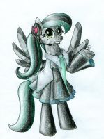 Obsidian's Outfits : #08 - Hatsune Obsidiku by Hornet-of-Hallownest