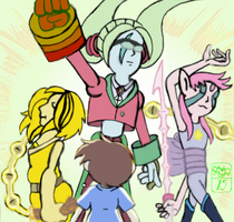 Max and the lucent gems by Ohthehumanityplz