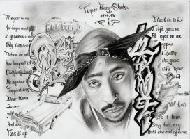 2pac forever and ever by Daricelli