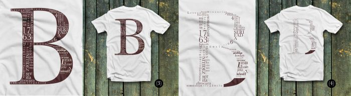 Type tshirt by oyphis