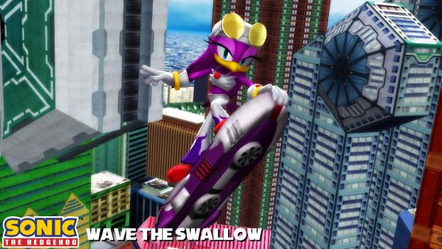 (MMD Model) Wave the Swallow Download by SAB64