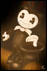 Bendy and the show! by Fillilala