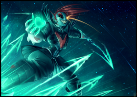 Undyne the Undying - The True Hero by WalkingMelonsAAA