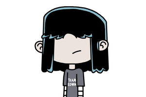 Lucy Loud with Team Edwin t-shirt by MarcosPower1996