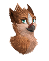Petra the Gryphon by VanillaFeathers