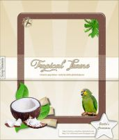 Tropical Frame by Stellas-Creations