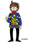 Fanart: Christmas sweater by JutaWi