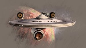 Enterprise Series - NCC-1701 by thomasthecat