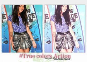 True Colors action by TheSofterSideAv