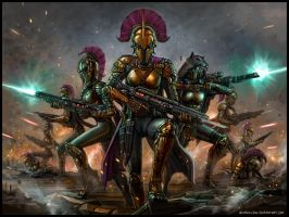 The Purple Squad Advances by SirTiefling