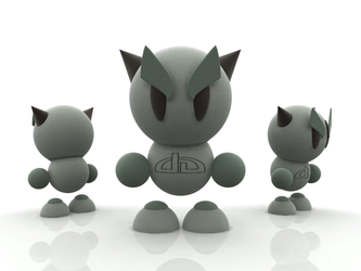 Fella in C4D, 3DS, DXF, OBJ by chromosphere
