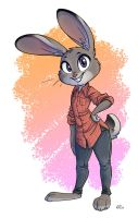 Judy Hopps - Colored by MalimarTheMage