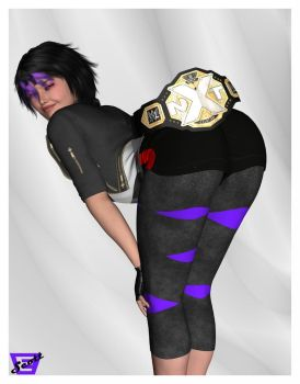 Gogo Tomago is The NXT Womens Champ by ImfamousE