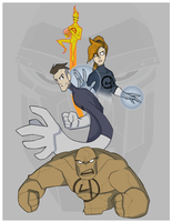 Fantastic Four by MrGreenlight