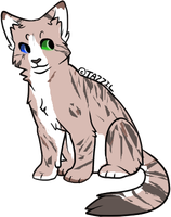 Cat adoptable (name a price) by Silversadopts