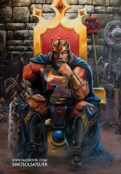 King He-Man / Oil on Canvas by SiMoSol