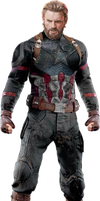 Avengers Infinity War - Captain America PNG by DavidBksAndrade
