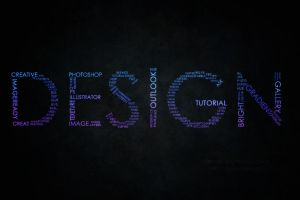 DESIGN..Typographic wallpaper by FRNchan