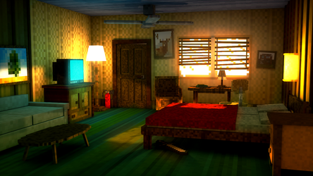 The Motel Room by AlexBroAnimator