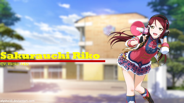 Sakurauchi Riko (Love Live! Sunshine!!) Wallpaper by alysho10