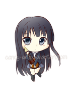 K-on Mio Chibi by Candy-Arts