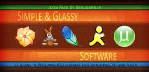 Simple and Glassy Software by Benjigarner