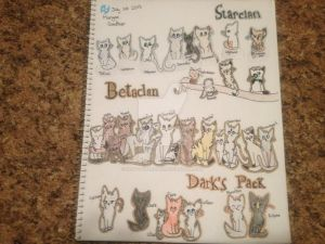 Betaclan full character sheet by Redfeatherstar