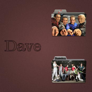 Dave Folder Icon Pack by Kliesen