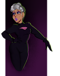 Space Babe by LunaBell