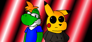 Bacon and Pikachu by LukeTheeMewtwo