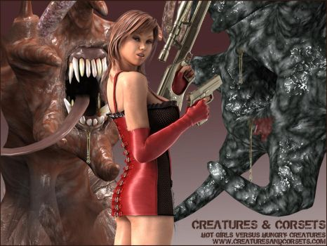 Creatures and Corsets by staceyli