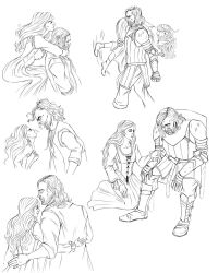 (Commission) Emily and Sandor doodles by Gabriele-B